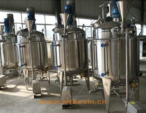 防冻液搅拌釜|防冻液生产设备