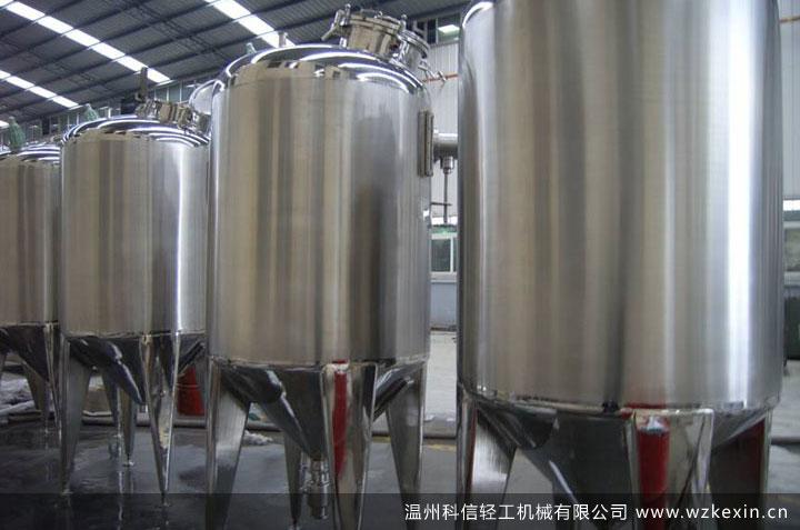 不锈钢调配罐成品