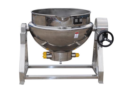 电加热夹层锅的使用事项及保养问题