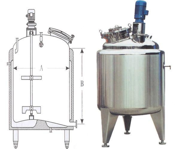 不锈钢发酵罐结构及使用说明