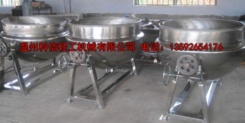 不锈钢夹层锅材质介绍以及安装使用注意事项