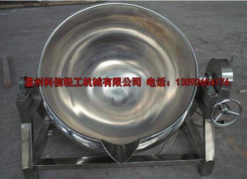 夹层锅在玉米笋羹生产过程中的重要作用
