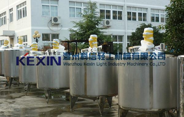 KEXIN304不锈钢乳化罐配置说明原理介绍
