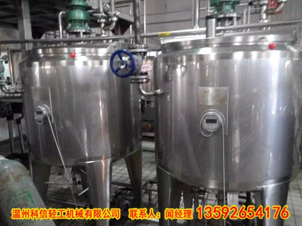 (科信)不锈钢搅拌罐的结构配置及日常维护