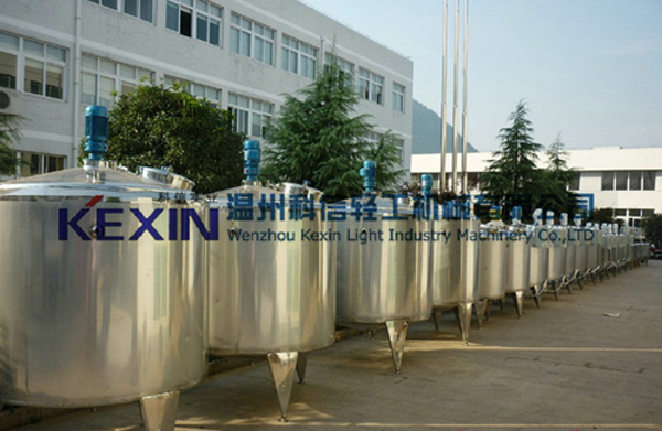 WZKEXIN不锈钢调配罐、储罐的详细资料